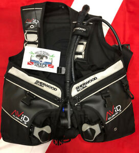 SHERWOOD AVID CQR 3 BCD WAY COOL WITH FRONT AND BACK WEIGHT POCKETS 😎!