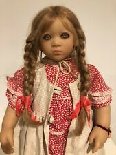 """Anna I by Annette Himstedt 1998 - 26 1/2"""" vinyl doll - #6Ah 2124 Mint Condition"""