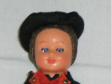 """Germany Black Forest Boy 7"""" HP or Celluloid Doll."""