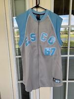 Mens Large ESCO Zip Down Yankees #67 Stitched Athletico MLB Jersey Basketball