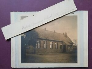 "Antique sepia photo Rastrick Grammar School 1891 Nr Halifax Yorkshire 9 x 7.5"""