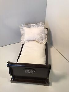 Muffy Vanderbear Sleigh Bed With Pillow And Mattress