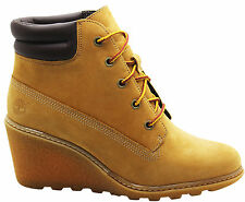 Timberland Wedge 100% Leather Upper Shoes for Women