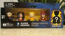 MEZCO TOYZ Mini Mez-itz Super Hero 5 pack Justice League Batman Superman