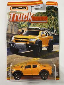 2021 Matchbox Truck Series 2016 Chevy Colorado Extreme 4/12 BNIB Sealed New