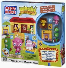 Mega Bloks 80627 Moshi Monsters House Haus Poppet