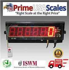 "Optima Remote Indicator Op-900-Ld Scoreboard Display Scale Display 3"" Digits"