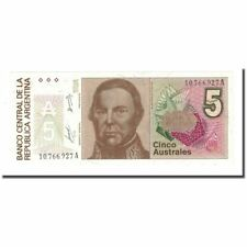 [#168304] Banknote, Argentina, 5 Australes, Undated (1985-89), Km:324a