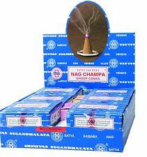Encens Cône Nag Champa - Lot de 12 Boites (Indian Dhoop Incense cones)