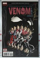🔥 TODD MCFARLANE SIGNED! VENOM INC OMEGA #1 Marvel AMAZING SPIDER-MAN Spawn VF+