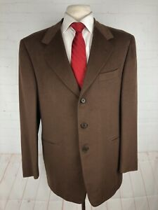 Pal Zileri Men's Brown Solid Loro Piana Blazer 44R $2,975