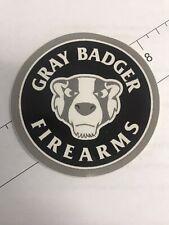Gray Badger Firearms Decal New Rare