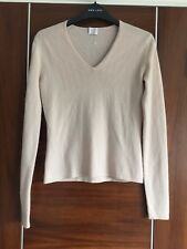 TSE crème nude 100% Cashmere Pull Taille XS Taille UK 8