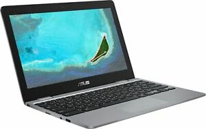 "ASUS - 11.6"" HD Chromebook (Celeron N3350, 4G, 16G eMMC) CX22NA-BCLN4 Gray"