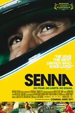 "Senna (Formula One Racing) - Movie Poster - (24""x36"") - Free S/H"