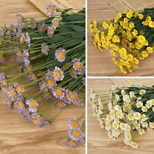 Artificial Bunch Fake Silk Daisy Flowers Bouquet Home Table Wedding Party Decors