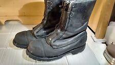 SYMPATEX 804-6391 Struct/Wild Fire Boots, Mens  USA Black Steel Toe Hot Shot