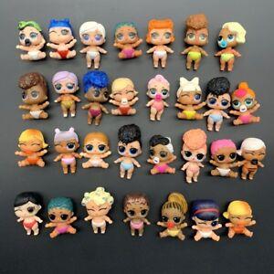 Aléatoire 5/10 Pcs LOL Surprise Poupée Lil Sister Figure Série 1 2 3 Doll Jouets