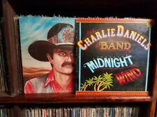 Charlie Daniels Band Lot - Saddle Tramp - Midnight Wind -   VG+  Vinyl LP