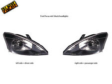 Ford Focus mk1 black headlights. Ford Focus 98-01 black headlamp pair! NEW!