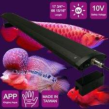 "KINGTORY LED lights aquarium for Red Arowana Fish Tank 47 1/4"" - 55 1/8"""