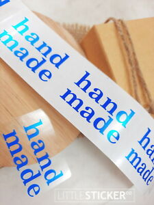 Name Labels Personalised, CLEAR rectangles 50x35mm print your design  x 50- 200