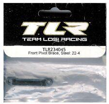 Team Losi Racing Front Pivot Brace, Steel: 22-4 - TLR234045