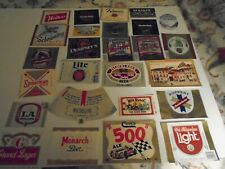 Lot Of (50) Diff Vintage Usa Beer Labels -Mint