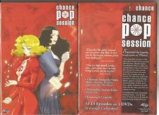 Chance Pop Session Complete Anime Collection (DVD, 2006, 3-Disc Set, Thinpak)