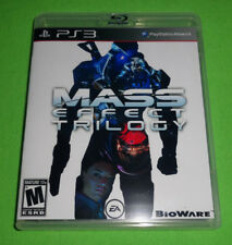 Empty Replacement Case! Mass Effect Trilogy 1 2 3 All Sony PlayStation 3 Edition