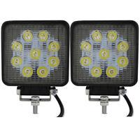 Safego 2x 4inch 27W LED Spotlight Scheinwerfer Auto Arbeitsscheinwerfer bar 12V
