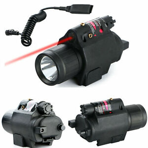Top Quality Insight bright Laser + LED 300lm Flashlight For Handgun Airsoft