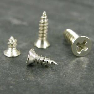 Tiny Small Stainless Steel 304 Pozi Head Screws M2 x 4, M2 x 6, M2 x 8 ,M 2.6x10