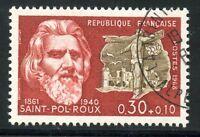 STAMP / TIMBRE FRANCE OBLITERE N° 1552 CELEBRITE / PAUL PIERRE ROUX