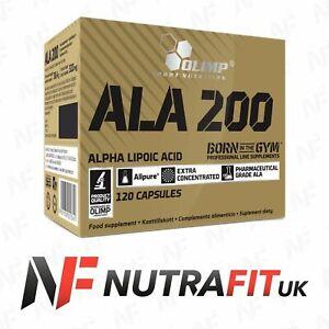 OLIMP ALA 200 antioxidant alpha lipoic acid heart eyes liver protection 120 caps