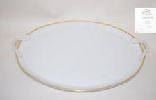 Platte Tablett Henkel 40 cm Donatello  Gold Rosenthal Kronach Antik Alt
