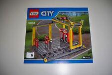 Lego Eisenbahn, 60052, Verladekran, OBA**