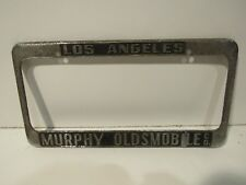 Los Angeles Murphy Oldsmobile LICENSE PLATE METAL FRAME HOLDER