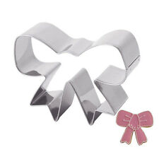 Stainless Steel Bow Pastry Cake Cookie Cutter Fondant Decorating Molds Pro