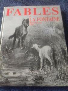 Livre Fables de la FONTAINE illustrations Gustave Doré