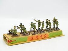 Divers Militaire Armée 1/43 - 10 Figurines Soldats Russie