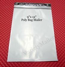 100 Poly Bag Mailers 9x12 Self Sealing Shipping Envelope Bags