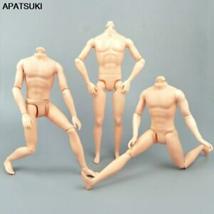 26cm Moveable Jointed Doll Body For Ken Doll 1/6 Male MAN Naked Body Prince Ken