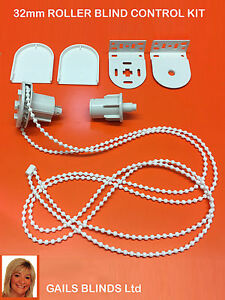 REPLACEMENT ROLLER BLIND SPARE PARTS FOR 32mm TUBING BRACKETS & CONTROLS ETC