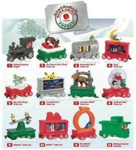 McDonalds 2017 HOLIDAY EXPRESS TRAIN - Choose Your Favorite
