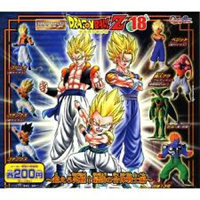 New Dragon Ball HG Gashapon Capsule Vol.18 Full Set 7 Figure / Gogeta Vegetto