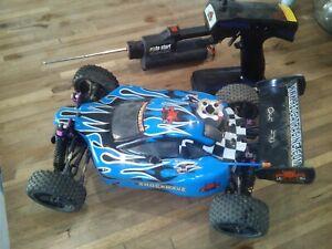 Redcat Racing Shockwave Nitro RC Remote roto start
