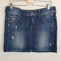 G STAR RAW Womens Size 12 or US 30  Denim ARC Mini Skirt
