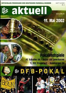 DFB-Pokalfinale 11.05.2002 FC Schalke 04 - Bayer 04 Leverkusen in Berlin