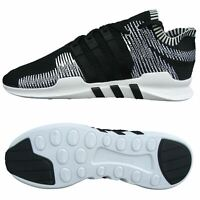Adidas Mens  EQT Support ADV PK Black Trainers Prime Knit Running Gym Sneakers